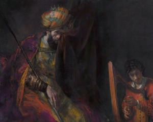 Saul and David, by Rembrandt